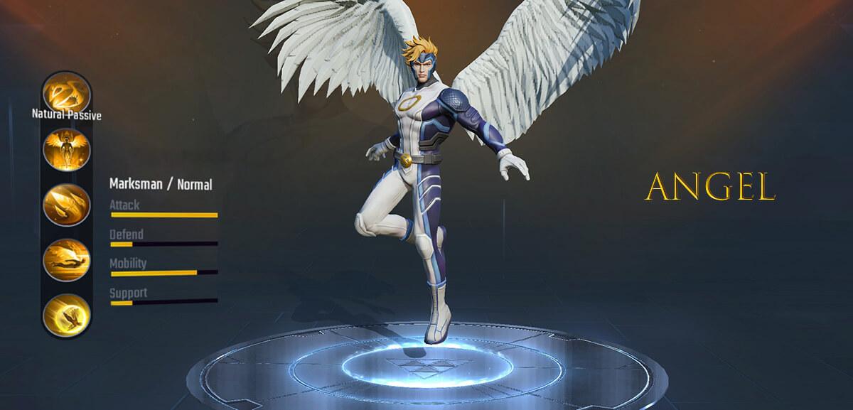 Angel Marvel Super War