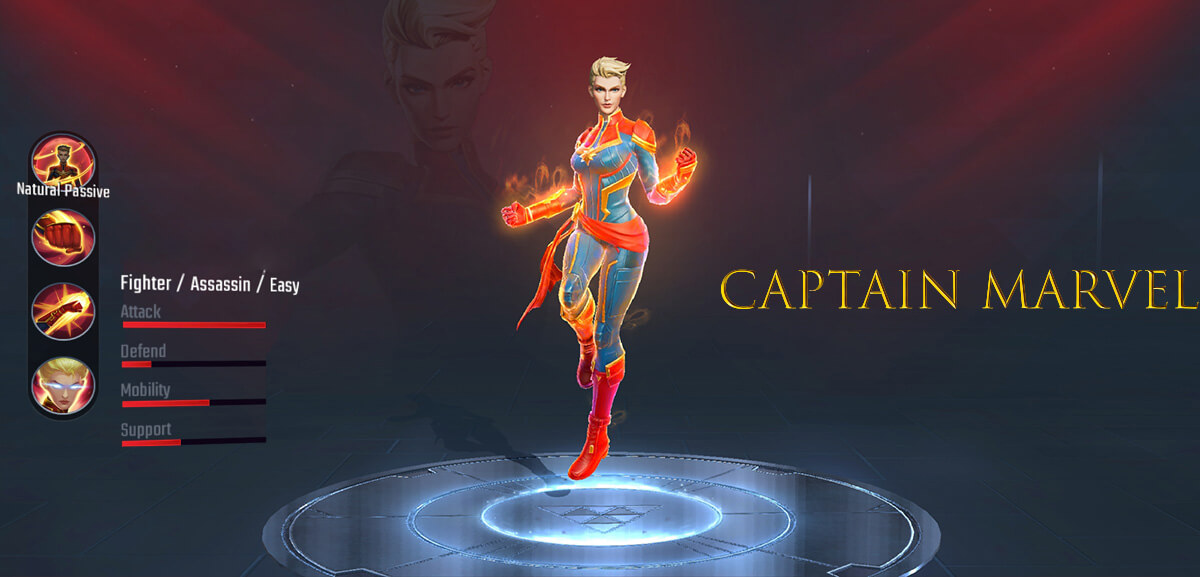 Captain Marvel Super War Hero