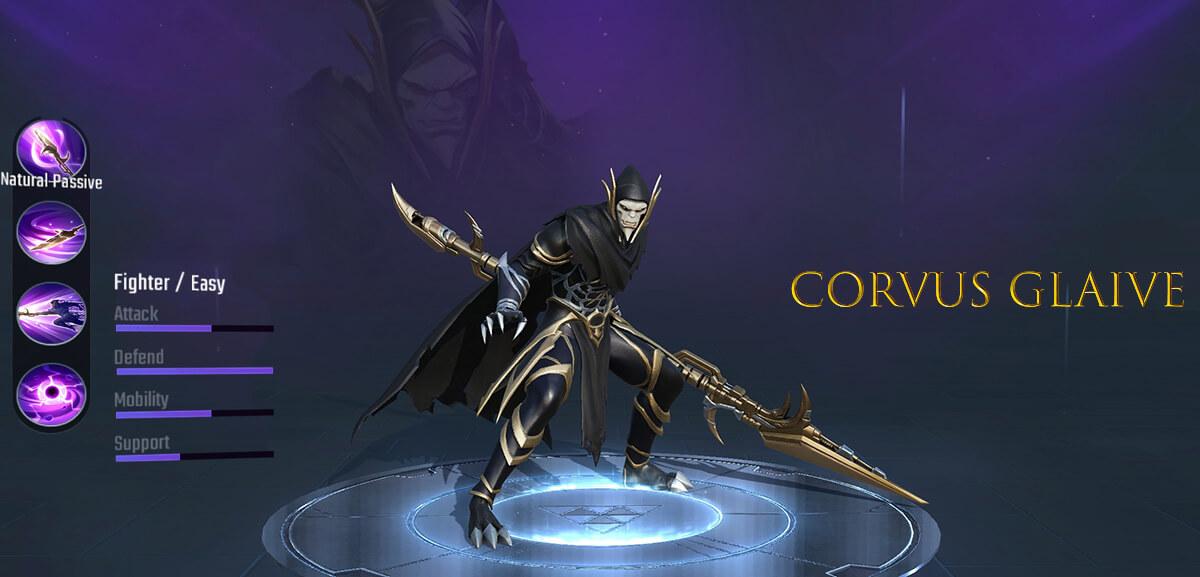 Corvus Glaive Super War Hero
