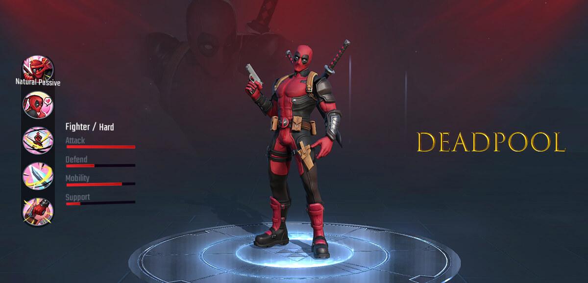 Deadpool Marvel Super War