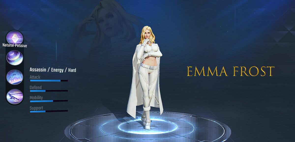 Emma Frost Marvel Super War