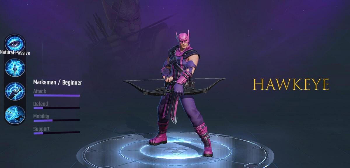 Hawkeye Marksman Hero