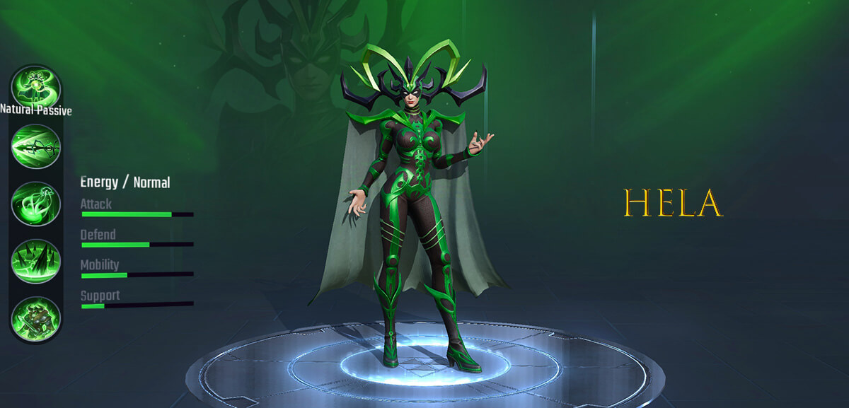 Hela Marvel Super War