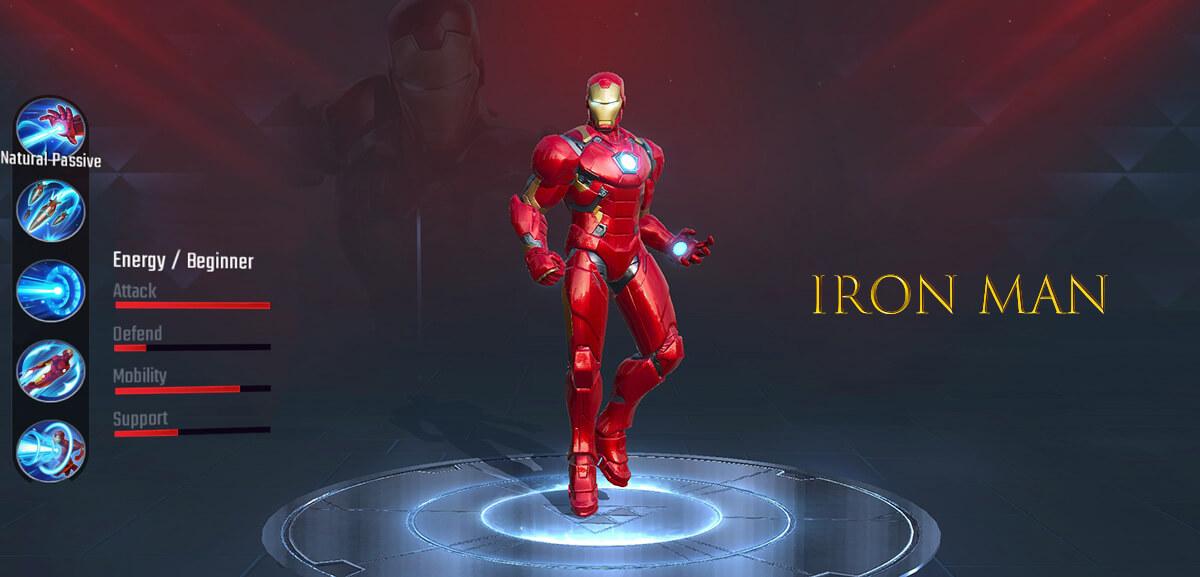 Iron Man Marvel Super War
