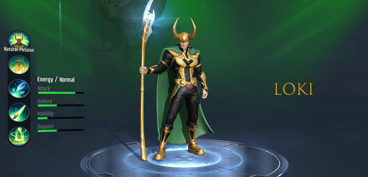 Loki Marvel Super War