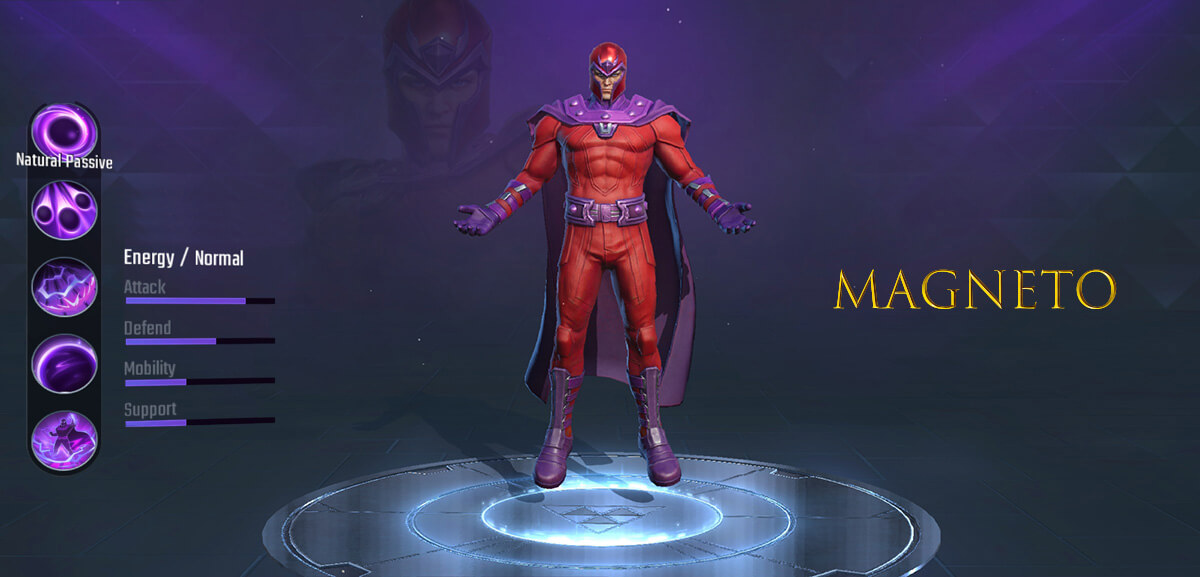 Magneto Marvel Super War