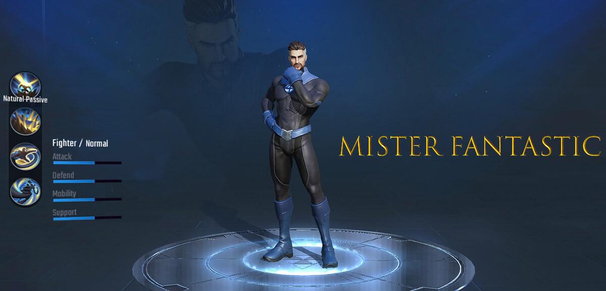 Mister Fantastic Marvel Super War