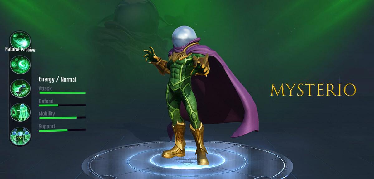 Mysterio Marvel Super War