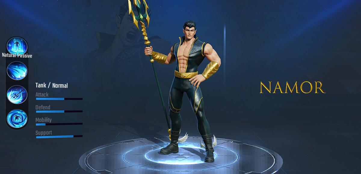 Namor Marvel Super War