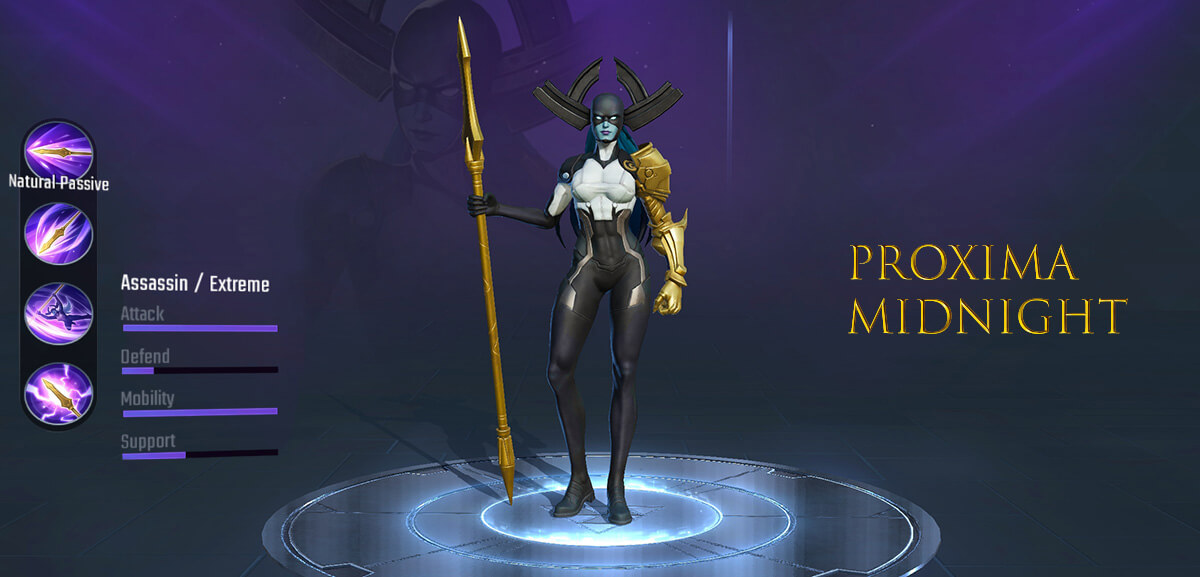 Proxima Midnight Marvel Super War