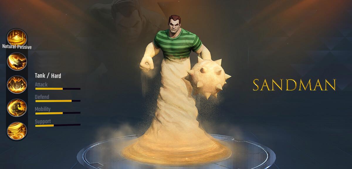 Sandman Marvel Super War
