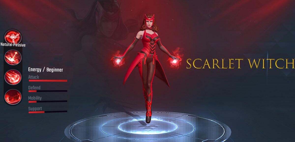 Scarlet Witch Marvel Super War