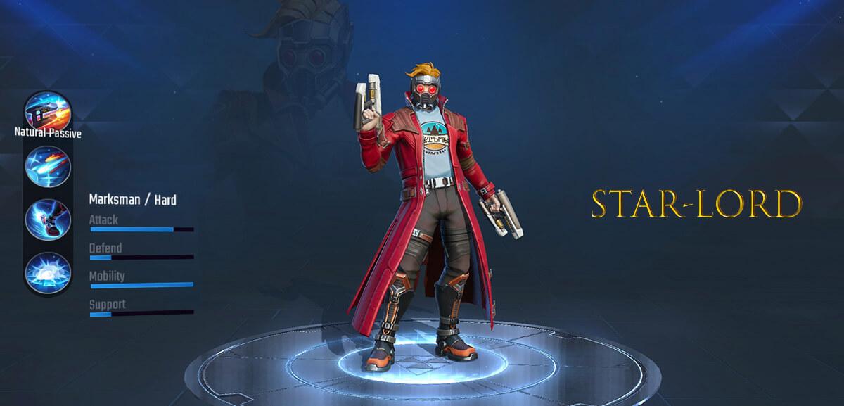 Star-Lord Marvel Super War