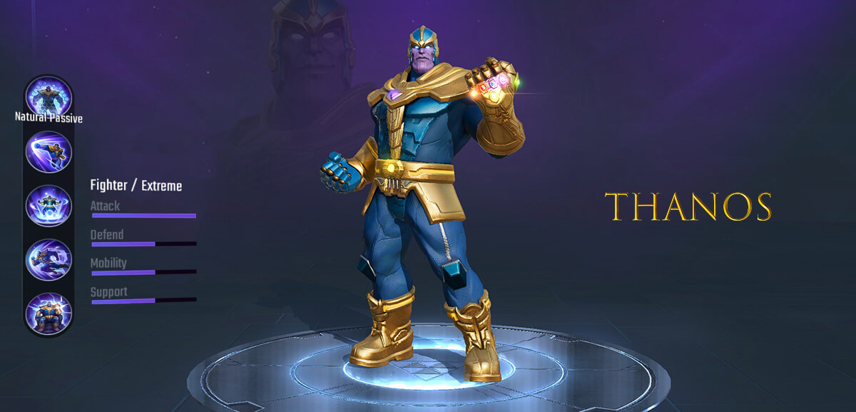 Thanos Marvel Super War