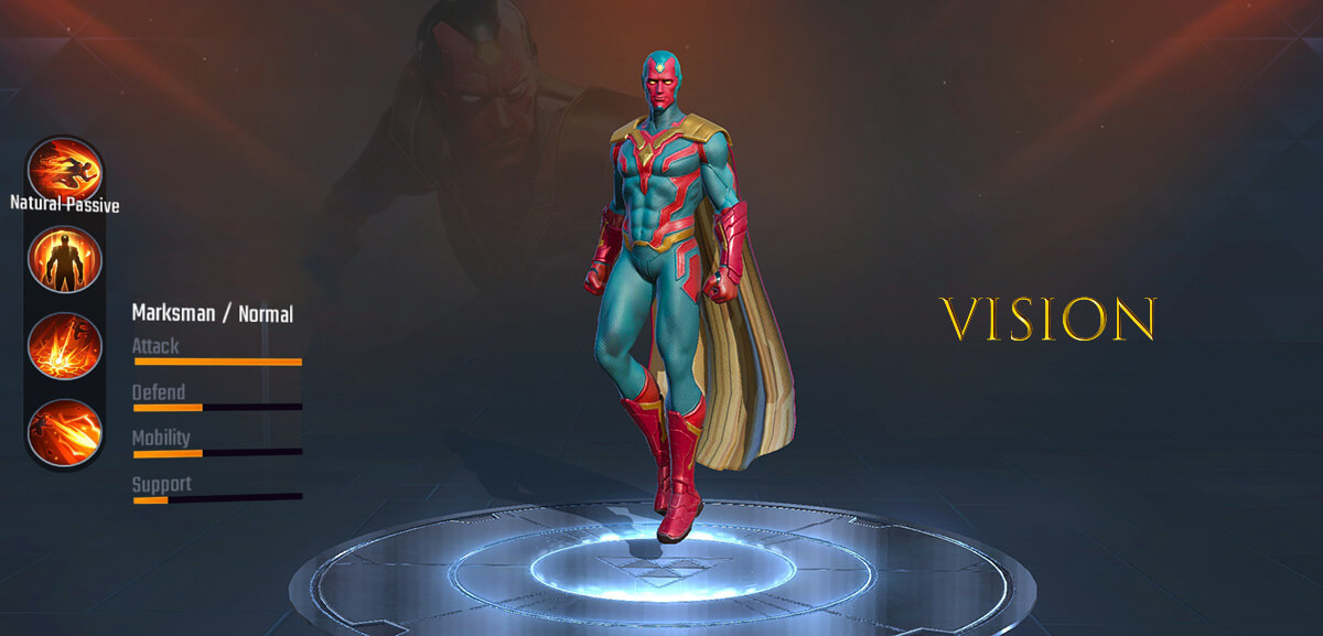 Vision Marvel Super War