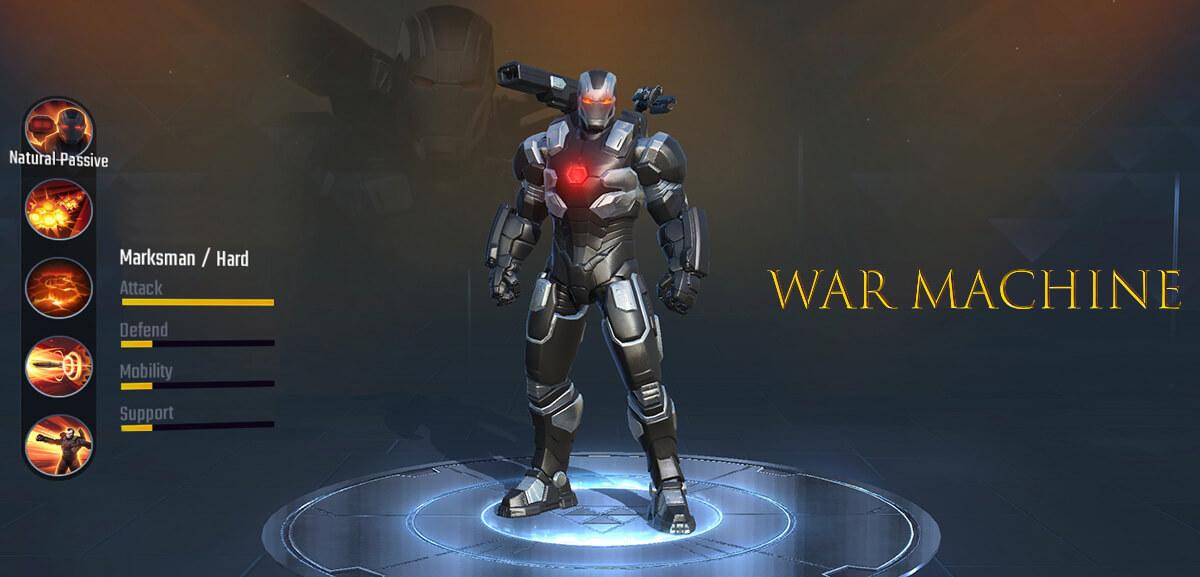 War Machine Marvel Super War