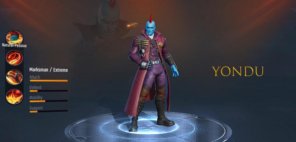 Yondu Marvel Super War