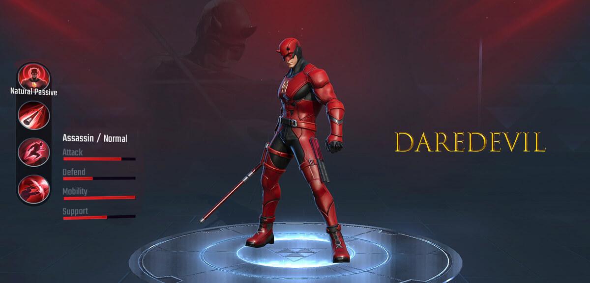 Daredevil Marvel Super War