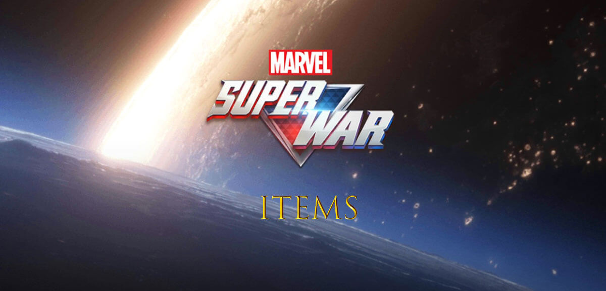 Marvel Super War Items